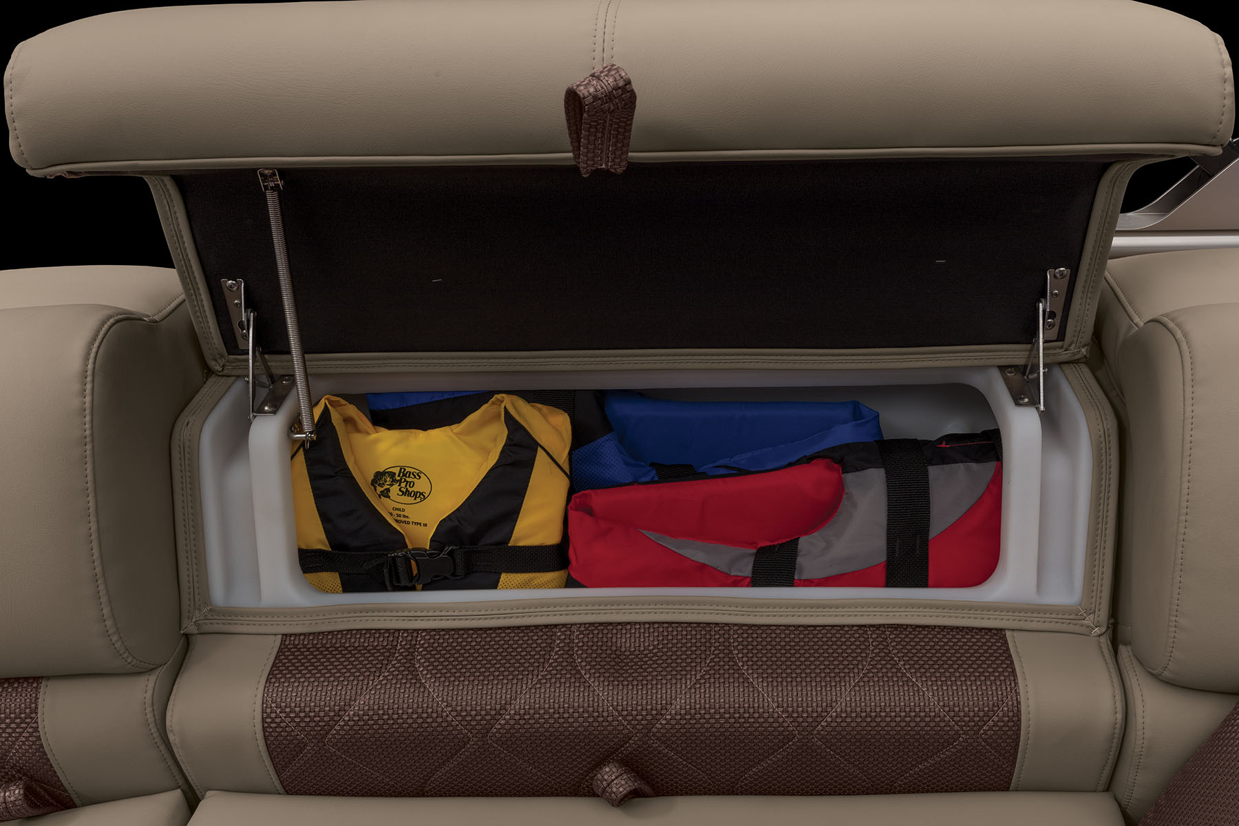 Stow More compartment