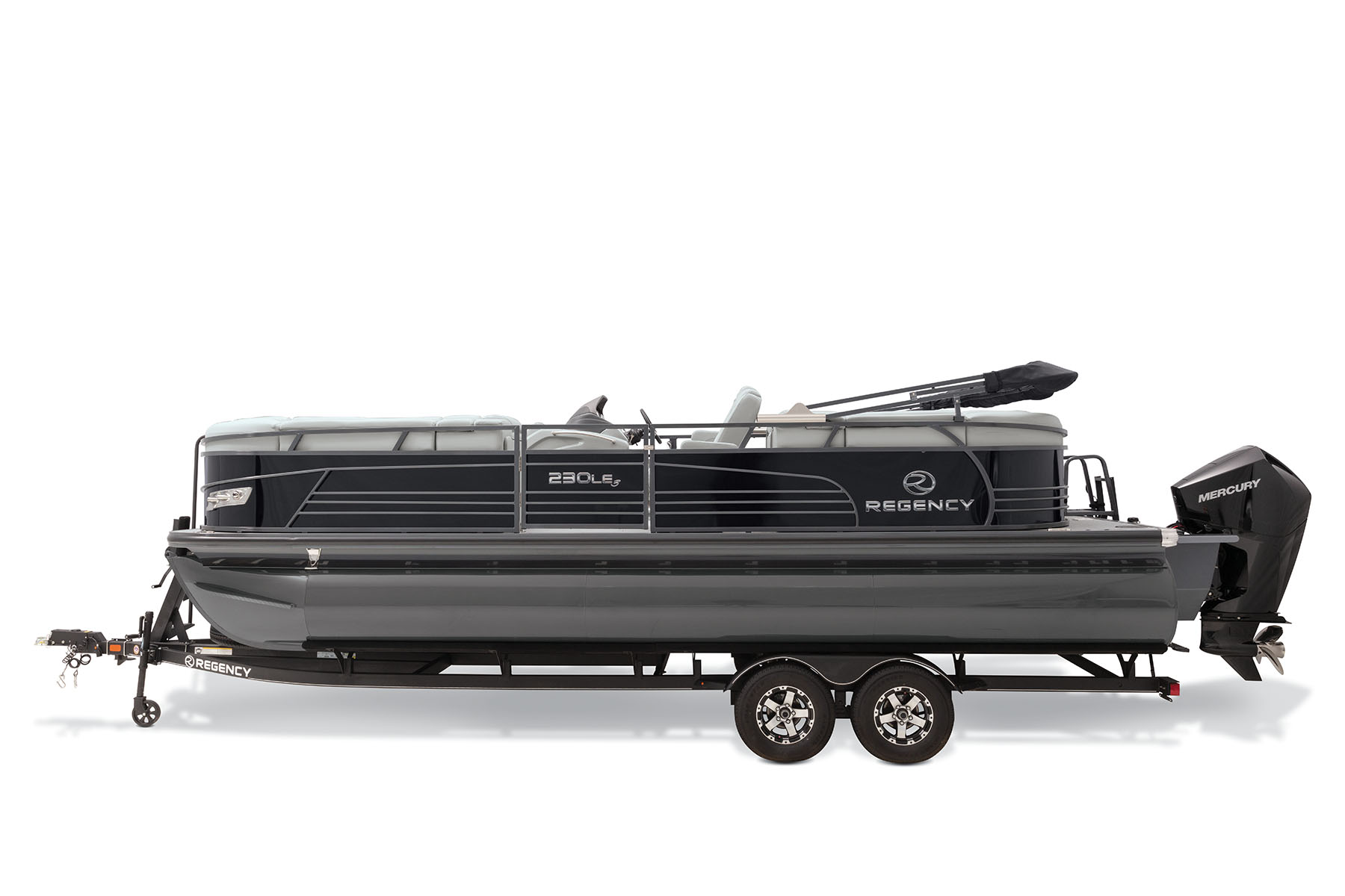 Profile view of 230 LE3 Pontoon